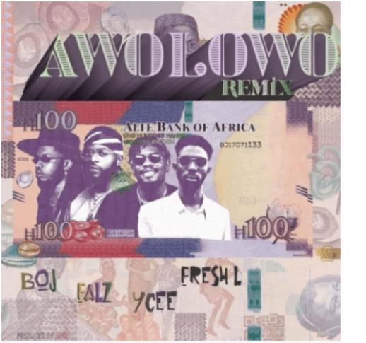 BOJ x Falz x Ycee x Fresh L - Awolowo (New Remix)