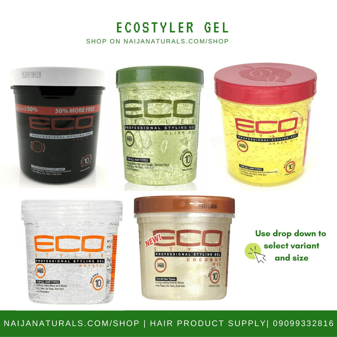 Eco Styler Hair Gel Nn Hair Beauty