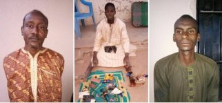 Image result for Nigerian army arrests three foreign Boko Haram members