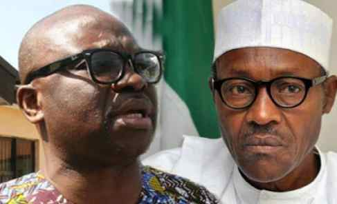 Buhari Is Not Even In Charge Of His Own Government - Fayose