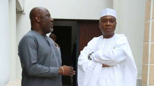 Image result for saraki dino melaye