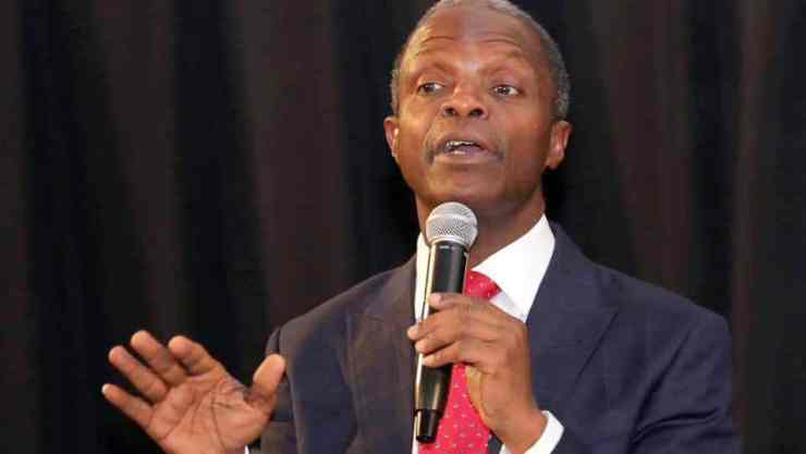 Osinbajo Disappointed By Delay In Passage Of 2018 Budget