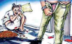 child rape on the increase in India