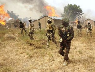 Image result for Army rescues 46 captives, destroys another camp in Sambisa forest