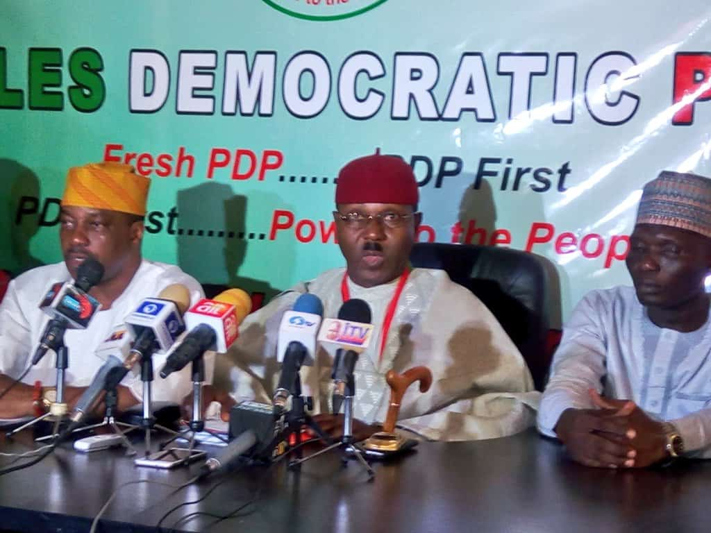 PDP to sanction promoters of 'Fresh PDP', says spokesman