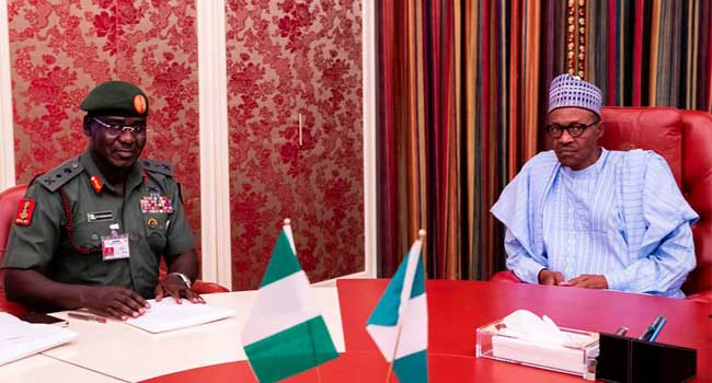 #EndSARS: Buhari Rejects Buratai's Request To Deploy Soldiers