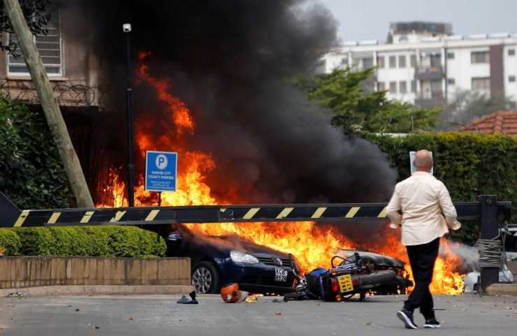 Explosions Rock Nairobi Hotel In Kenya, Attack Claimed By Al-Shabab (Video/Photos)