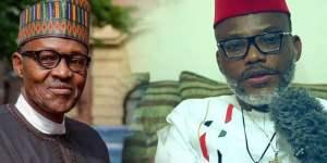 Biafra: Abba Kyari Overriding Presidential Order Confirms Buhari Is Dead - Nnamdi Kanu