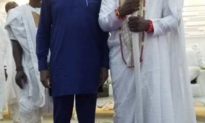 What Ooni Of Ife Told YPP's Moghalu To Do Ahead Of Presidential Election