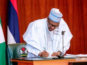 Buhari Signs 2021 COVID-19 Health Protection Regulations