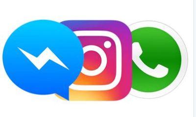 Zuckerberg's Facebook, Instagram And WhatsApp Down Same Time
