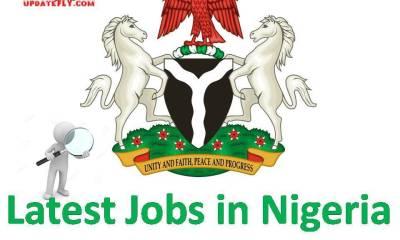 Jobs, Jobs in Nigeria, Latest job news, Latest Nigerian jobs, Latest recruitment, Latest recruitment in Nigeria, Latest Vacancies, Naija News, Nigeria jobs today, Nigeria news, Nigerian Jobs, Nigerian jobs today, Nigerian jobs today news, Recruitment, recruitment news,