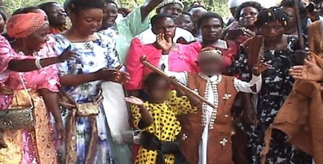 9-Year-Old Minor Weds After Five-Years Relationship   Naija News