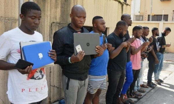 Image result for yahoo boys in nigeria