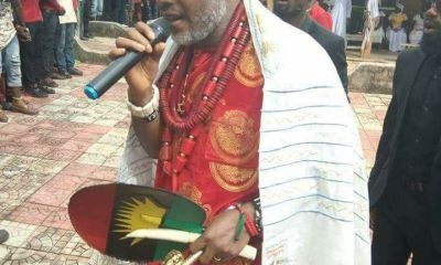 Biafra: Nnamdi Kanu Explodes Over 'Assassins' At His Abia Residence