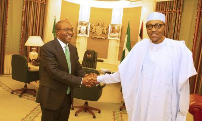 Emefiele Meets Buhari In Aso Rock