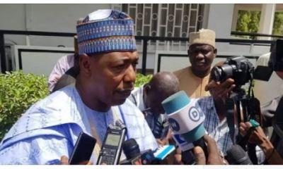 Just In: Borno Suspends COVID-19 Lockdown, Permits Religious Gathering