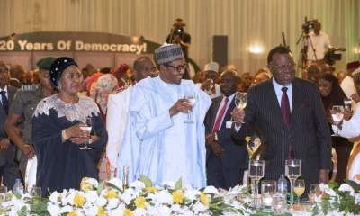 Democracy Day: Buhari Dines With African Leaders (Photos)