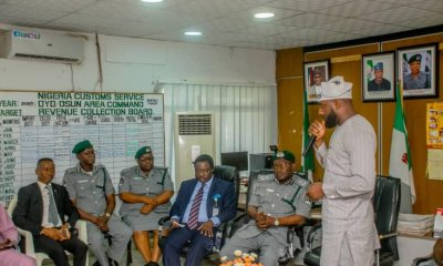 Oyo Assembly Visits Nigerian Customs, Makes Fresh Demands