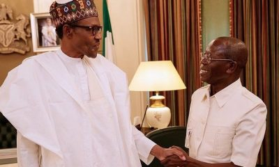 Oshiomhole and Buhari