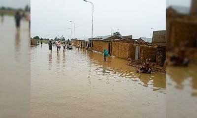 File Photo Of A Flood Scene in Nigeria