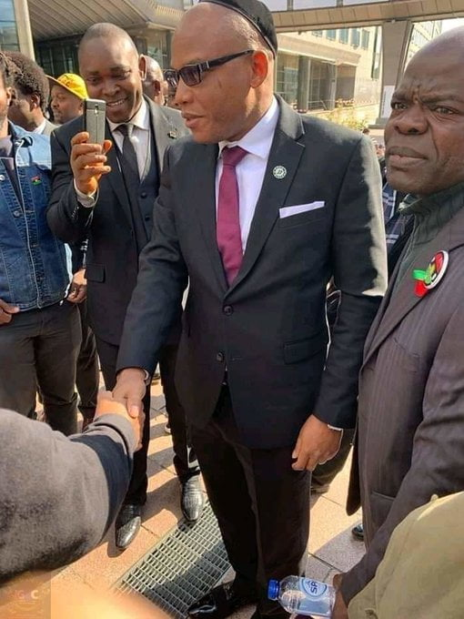 Breaking: Nnamdi Kanu Arrives European Parliament To Discuss Biafra Referendum (Photos)