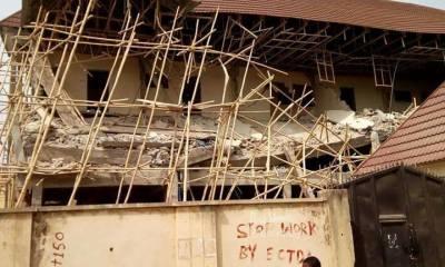 Police Speaks On Collapse Building In Enugu