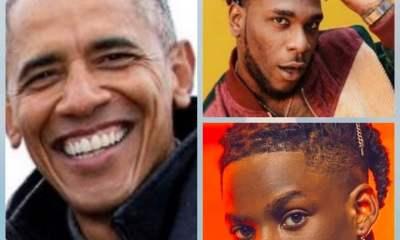 Obama, Rema and Burna Boy