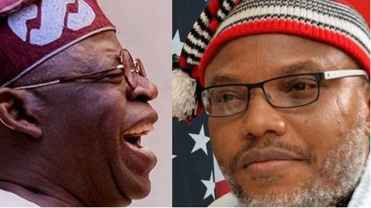 Tinubu and Kanu - Prime 5 Political Quotes In Nigeria For This Week