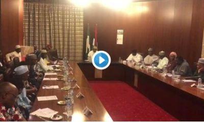 Breaking: President Buhari In Closed-Door Meeting With ASUU