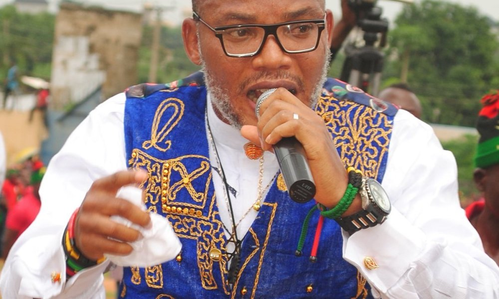 #EndSARS: Nnamdi Kanu Condemns Attack On Protesters