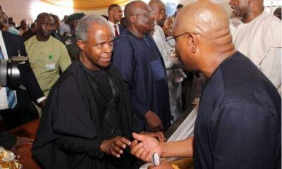 Vice President Osinbajo, Gov. Wike, Other Top APC, PDP Leaders Meet (Photos)