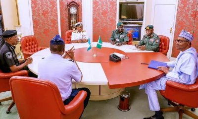 Real Reason NSA Monguno Did Not Attend Service Chiefs' Meeting With Buhari