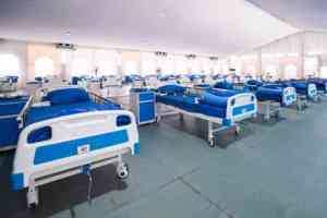 covid facility 8 - Photos: Inside Lagos Facility Built In Five Days To Battle Coronavirus