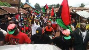Breaking: Police Arrest '9 IPOB Members' In Delta, Recover Stolen Rifles