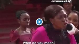 Drama As 'Lucifer' Appears In TB Joshua's Church (Video)