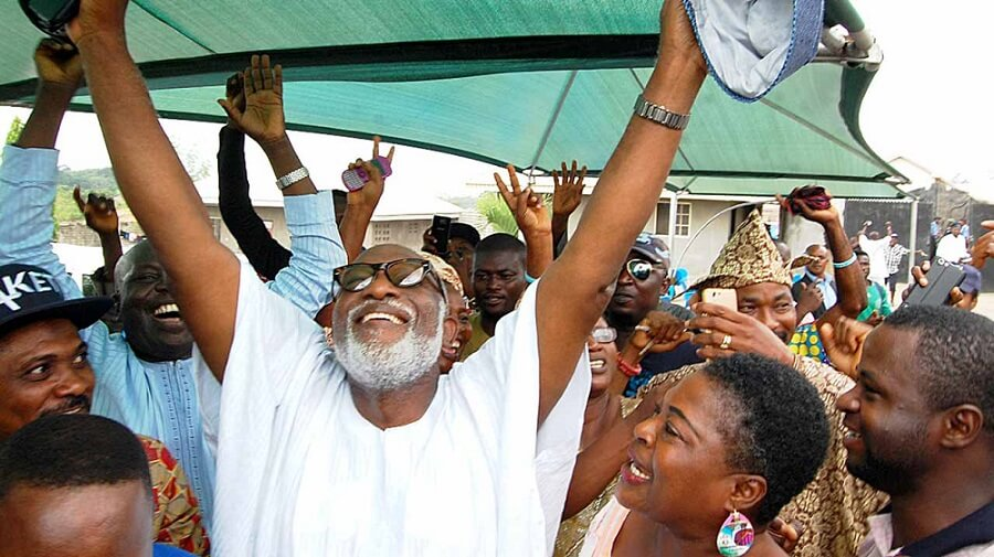 #OndoDecides2020: APC's Akeredolu Massively Wins Polling Unit