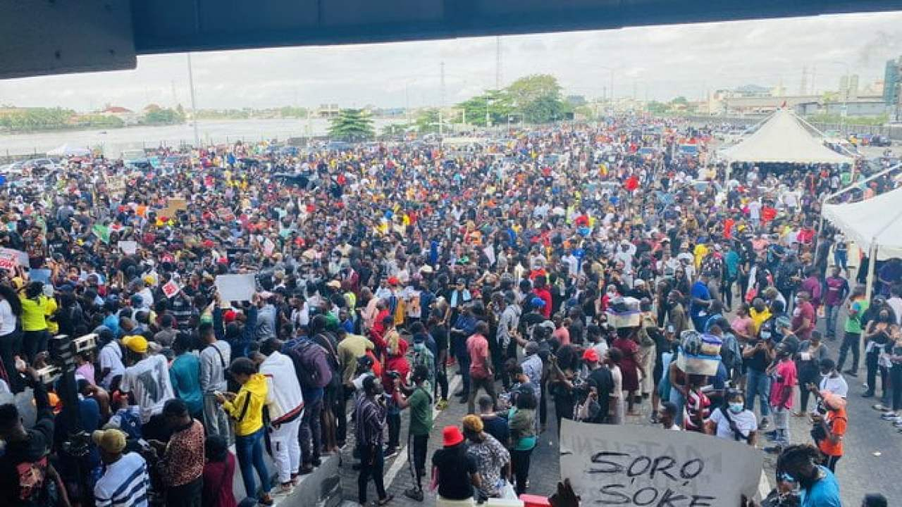 EndSARS: FG To Forcefully End Protest If... Presidential Committee