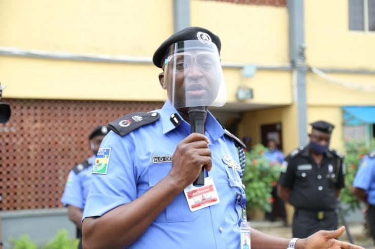 Lagos CP Odumosu - See Faces Of Disbanded SARS Officials (Photos)