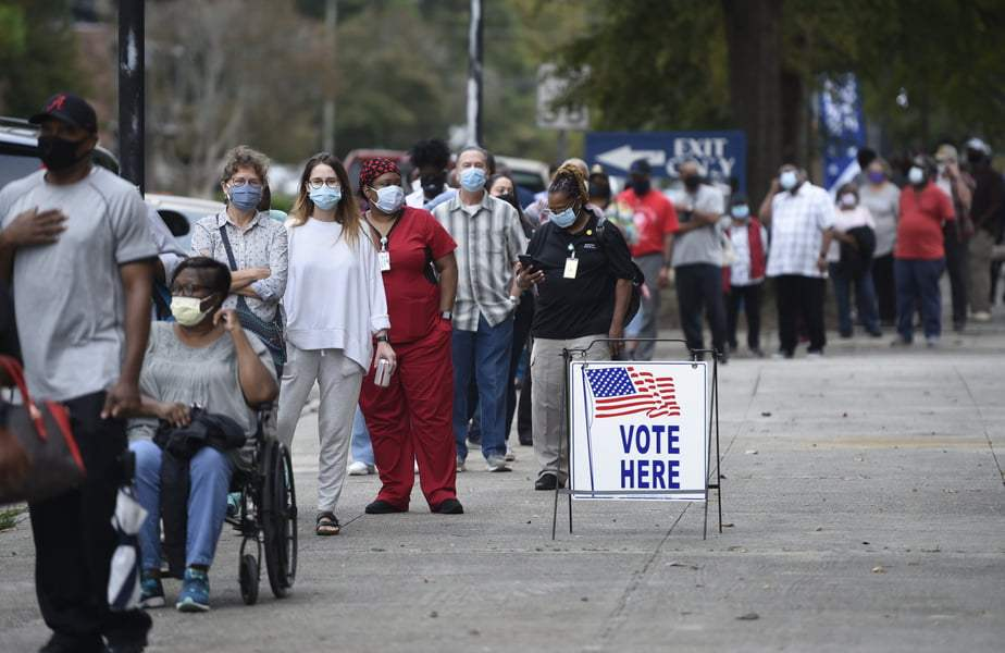 Ten Million Americans Have Already Voted In The US Presidential Election