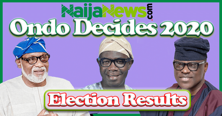 #OndoDecides2020: Ondo Election Results From Different Polling Units