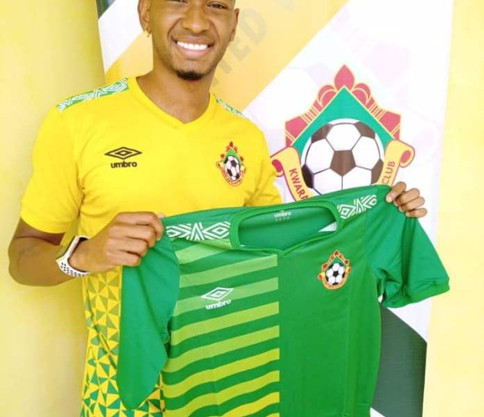 Brazillian Winger, Ribeiro Alves Lucas Joins Kwara United