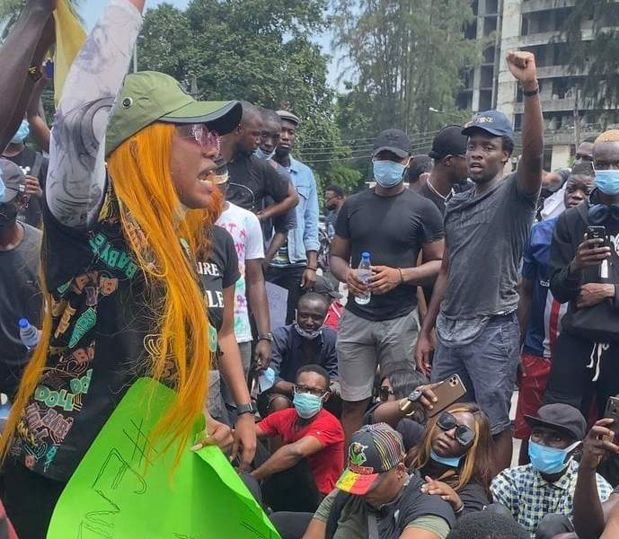 Residents Defy Wike's Ban, Continue #EndSARS Protests In Rivers