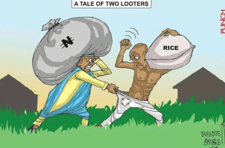 #EndSARS: The Tale Of Two Different Looters