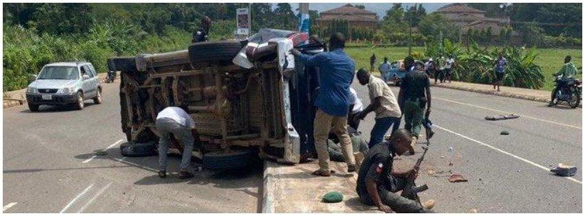 Breaking: Four Policemen Dead In Ondo Accident