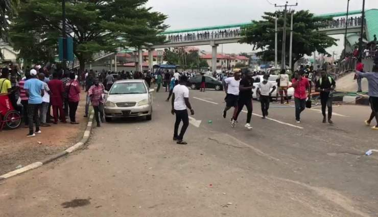 #EndSARS Protesters Attacked In Osun, One Injured