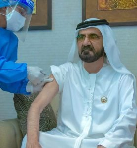 COVID-19 Trial Vaccine Administered On UAE Prime Minister, Sheikh Mohammed – [Photo]