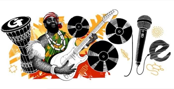 Google Honors Legendary Nigerian Musician Oliver De Coque On 74th Birthday