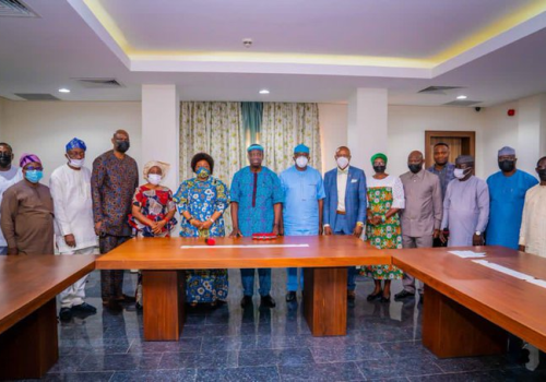 Adeboye Visits Fayemi, Laments Attack On Traditional Rulers [Photos]