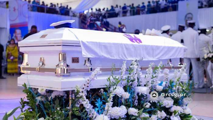 Dare Adeboye Laid To Rest At Redemption Camp [Photos]